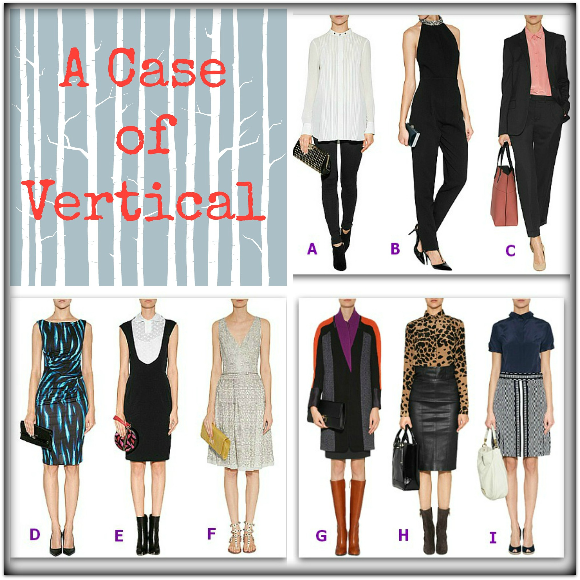 vertical fashion trend
