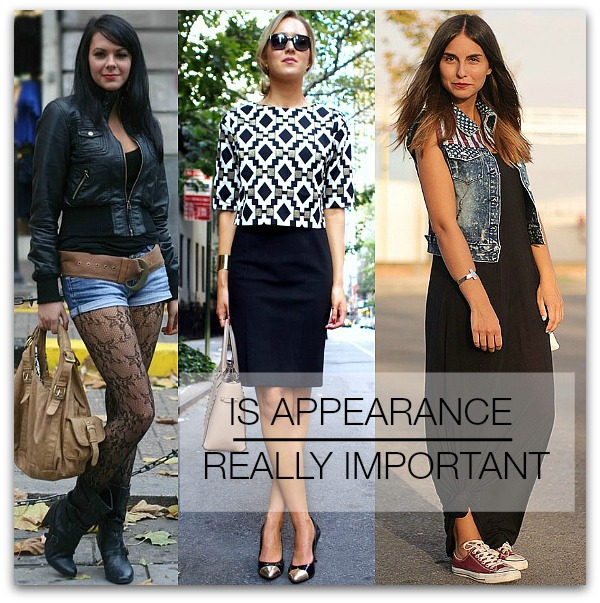 appearance important or not