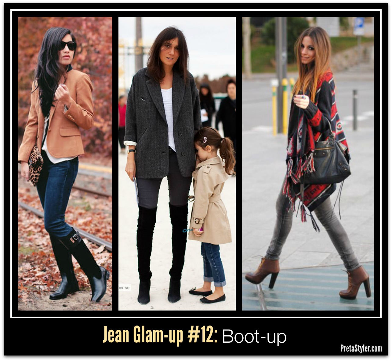 How to Glam-up Blue Jeans #12