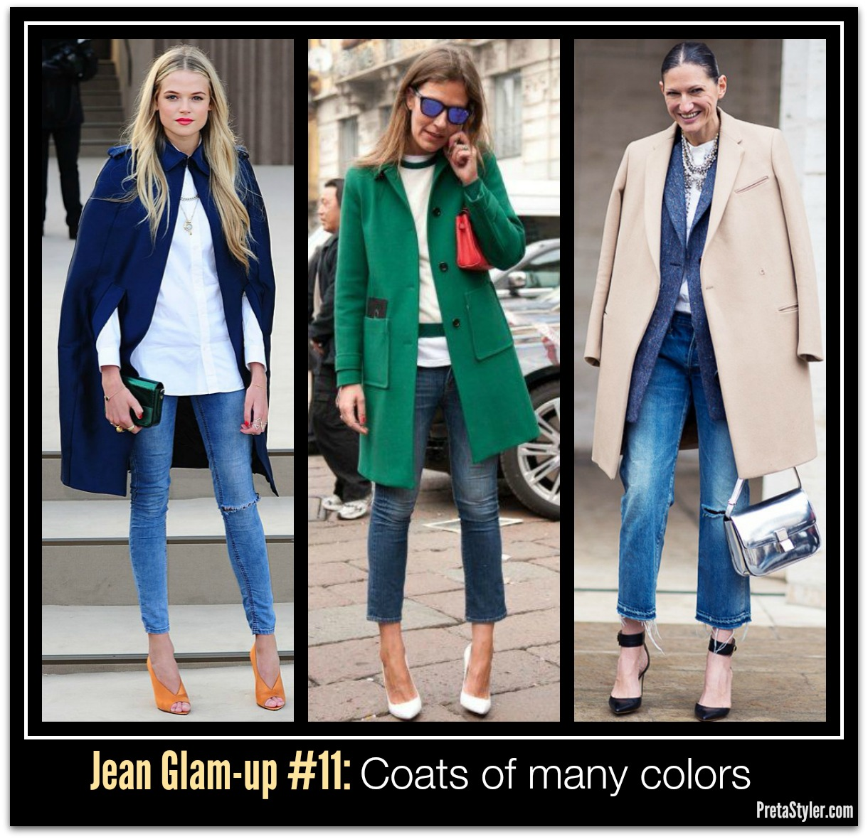 How to Glam-up Blue Jeans #11