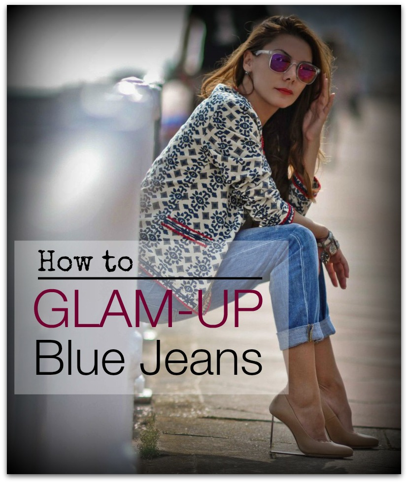 glam up your jeans