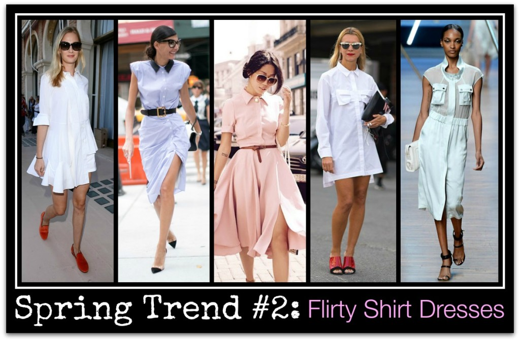 Spring Trend 2014_15_Shirtdresses