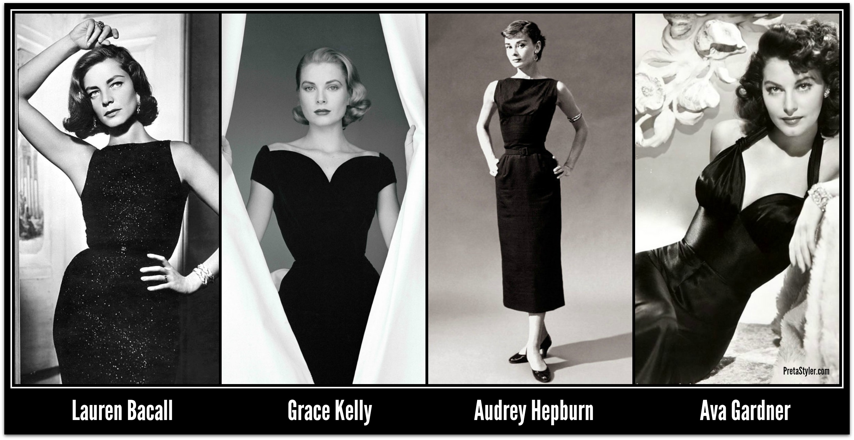 Image result for iconic little black dress