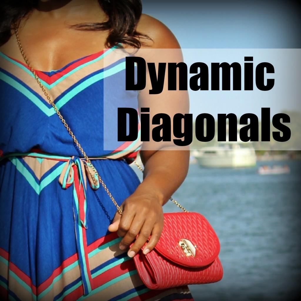 diagonal design lines