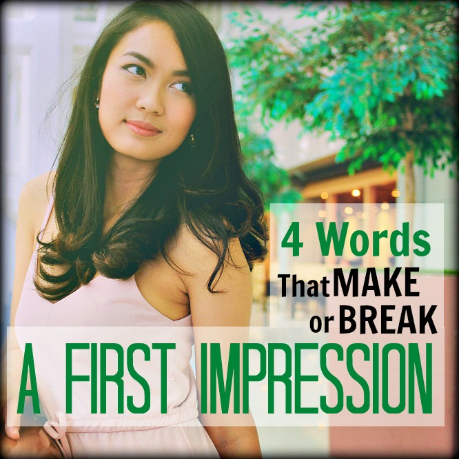 first impression tips