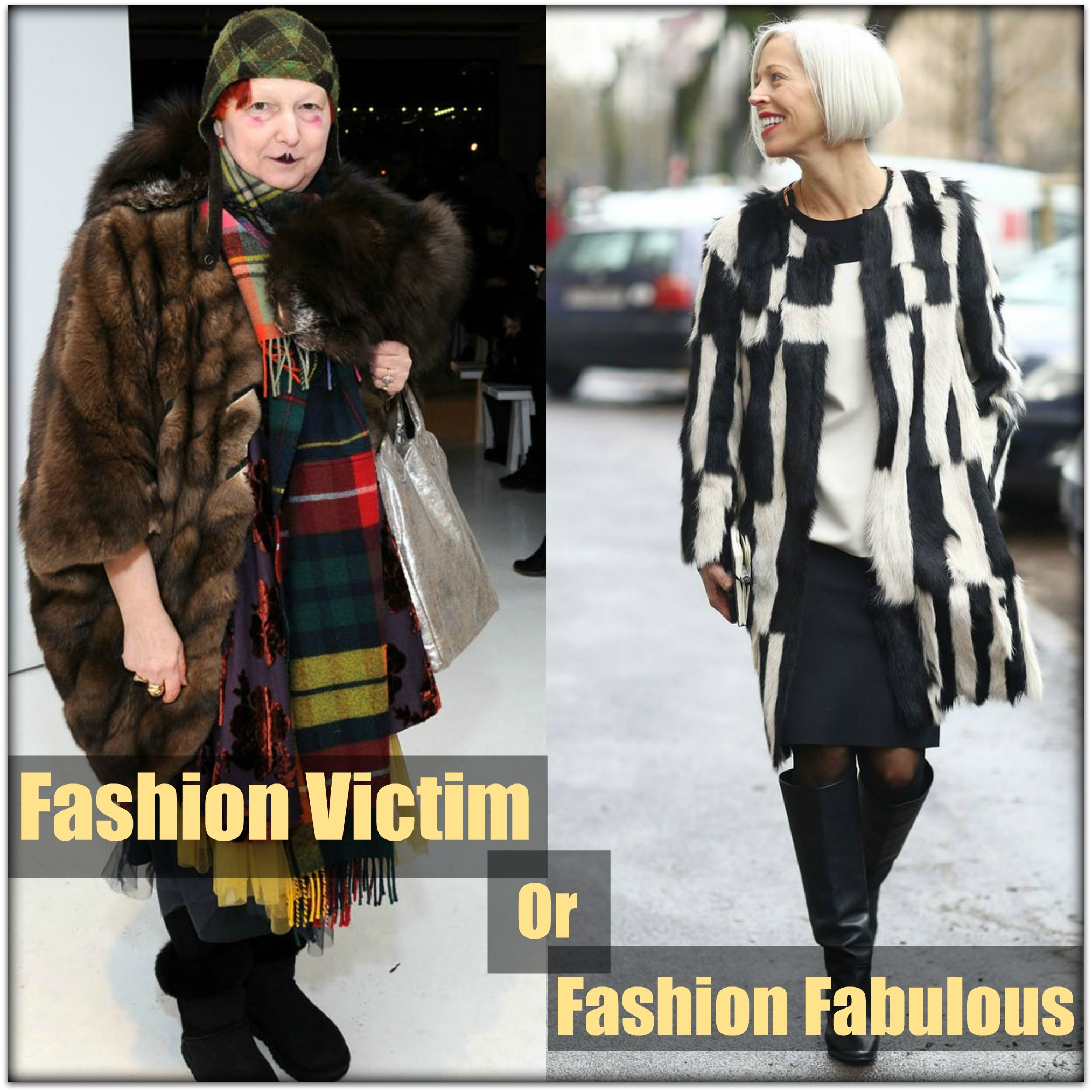 Fashion: How Not To Become One