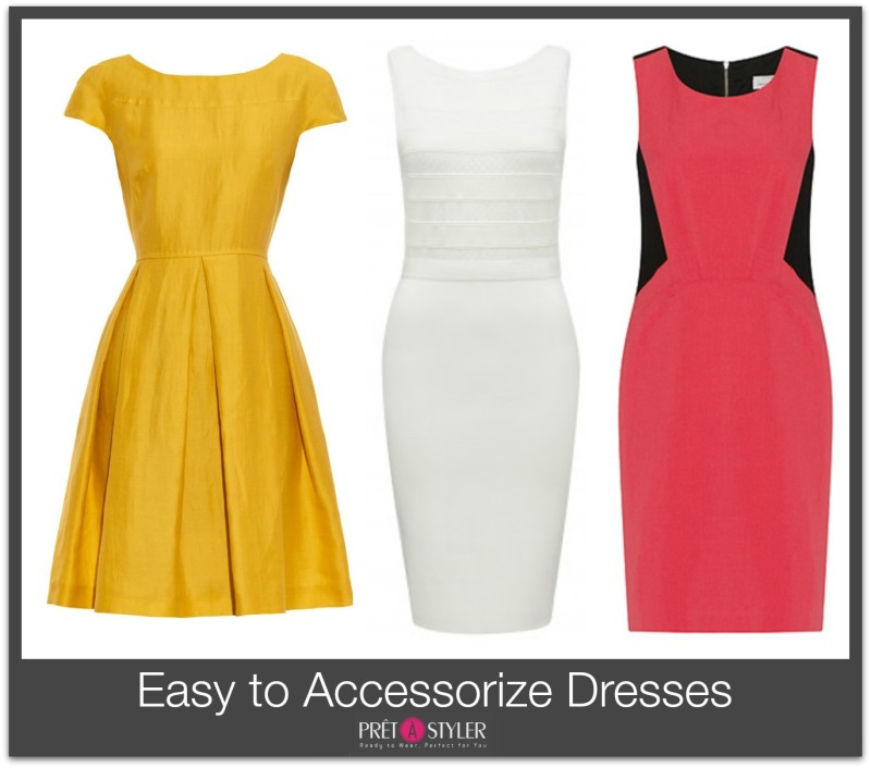 Easy To Accessorise Dresses