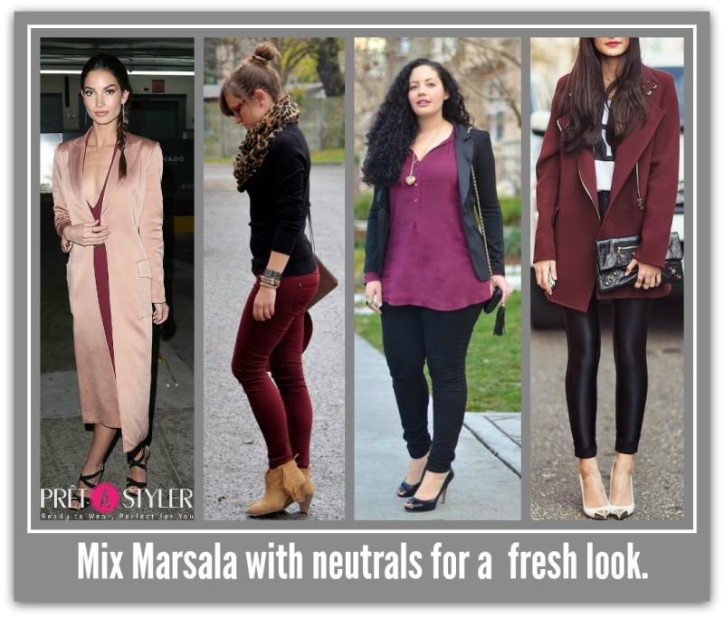 Mix with neutrals
