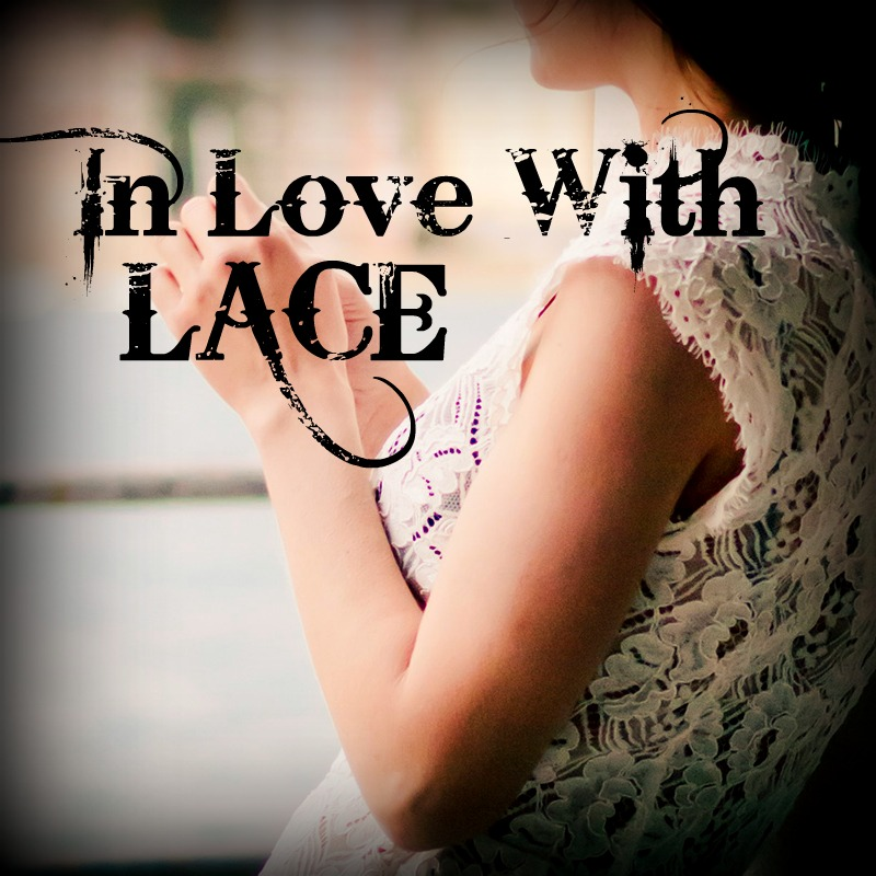 IN LOVE WITH LACE: 10 ways to wear lace year round