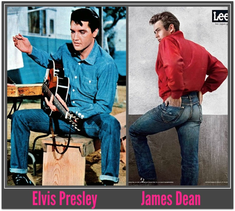 Elvis and Dean