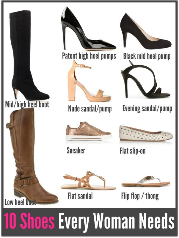 10 shoes