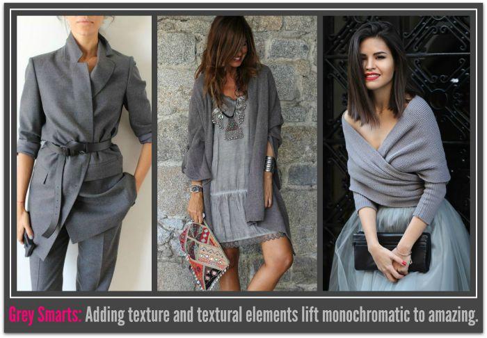 Textural elements