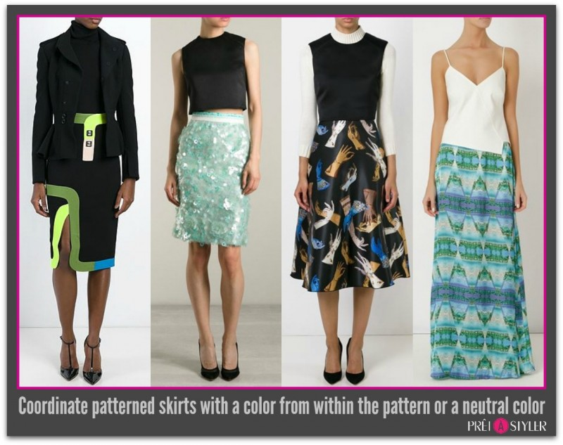 Pattern Coordination_Skirts