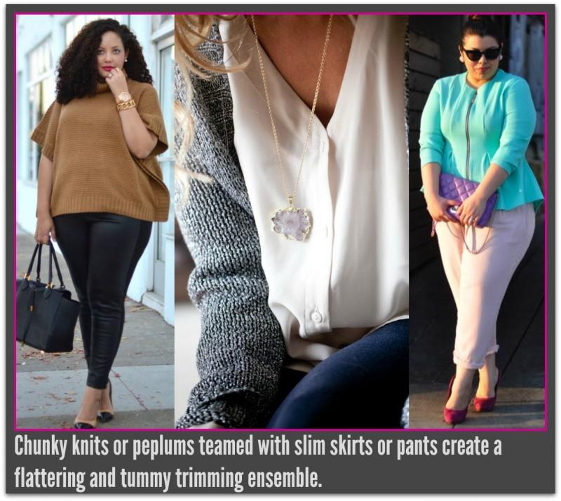 Peplum and sweater2