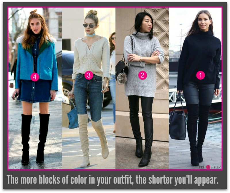 How to Look Taller_Color Blocking