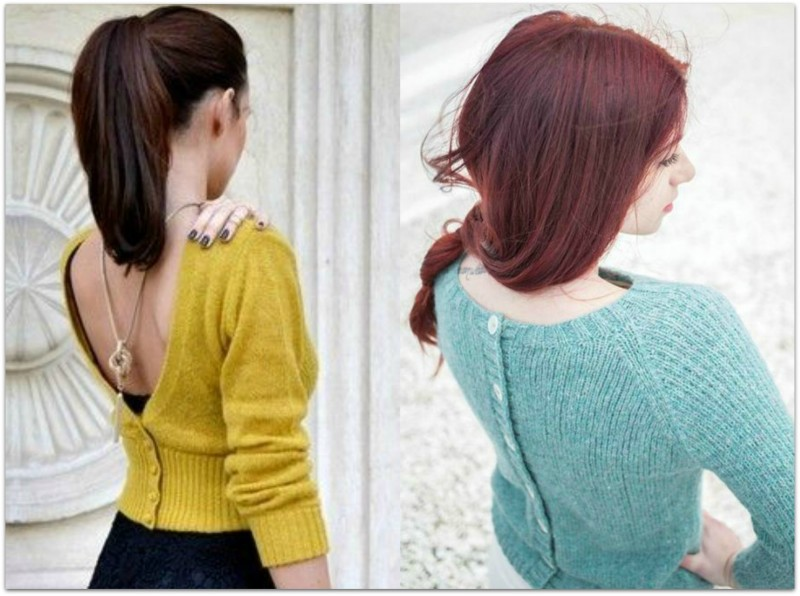 How to Style a Cardigan _Back to Front2