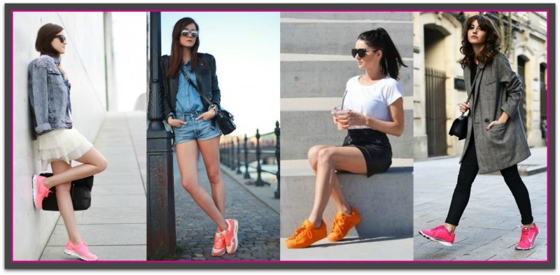 Trends To Try in 2016_Neon Trainers