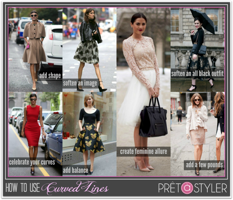 How to Style Curved Lines in Fashion