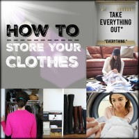 HOW TO STORE YOUR CLOTHES