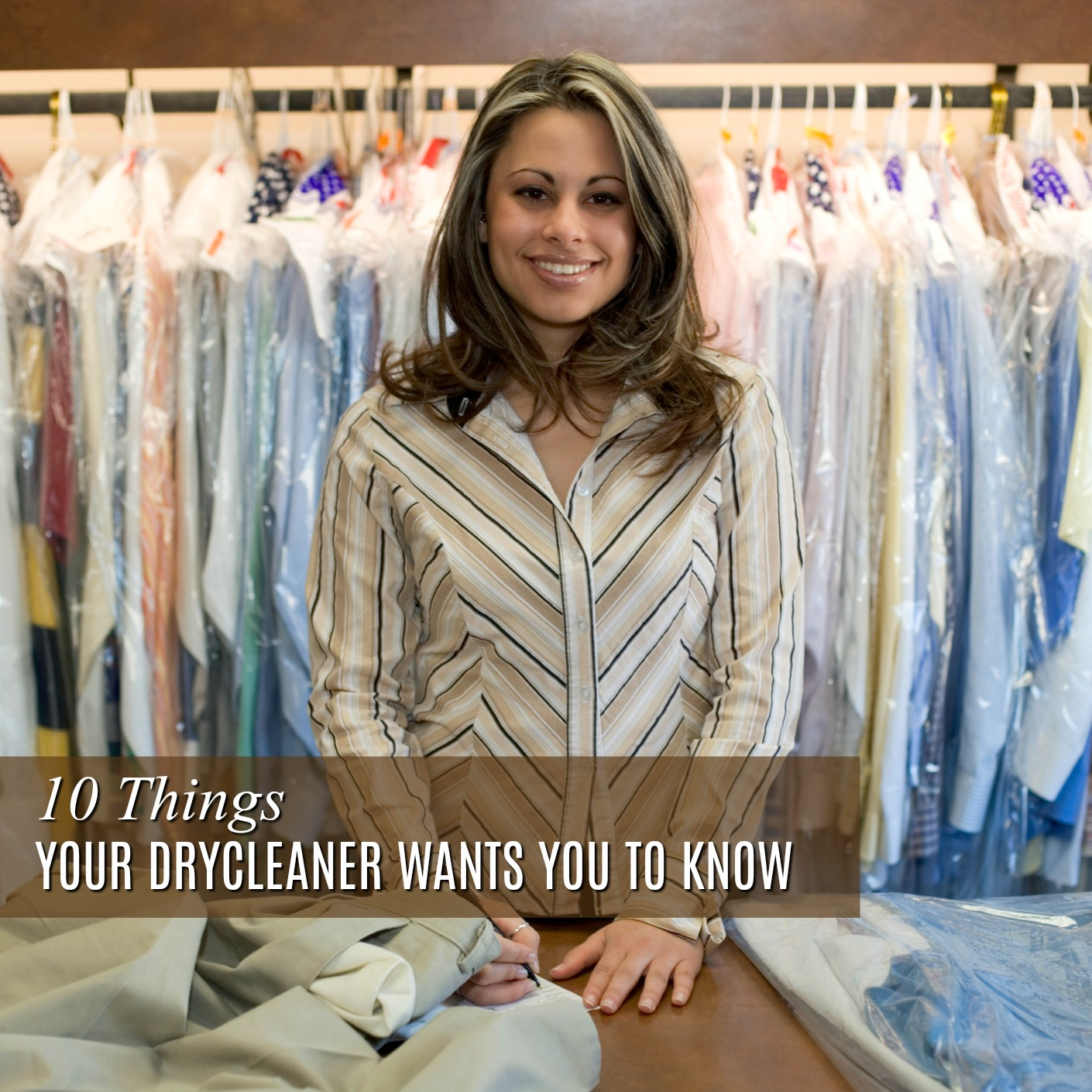 7 Things Your Dry Cleaner Wants You to Know