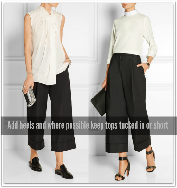 Cropped pants styling 2