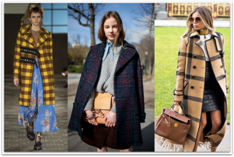 Plaid coats1