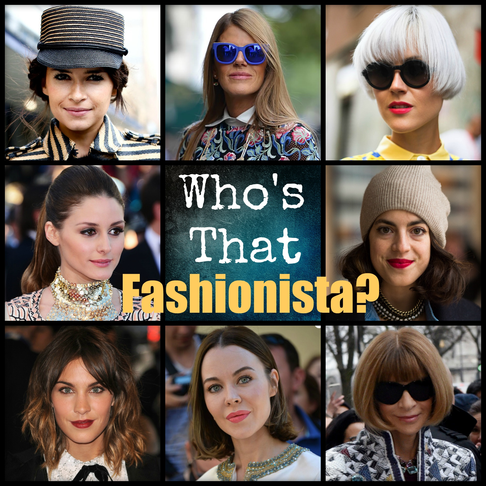 WHO'S THAT FASHIONISTA?