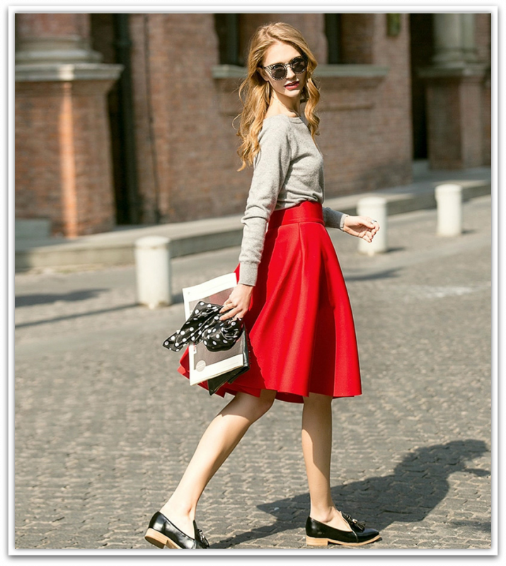 Femininas-Fashion-Elegant-Solid-Long-Skirts-2015-Street-Style-Autumn-Women-s-Solid-Black-Casual-High