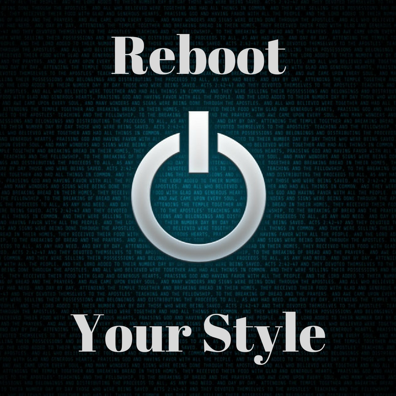Reboot Your Style Banner