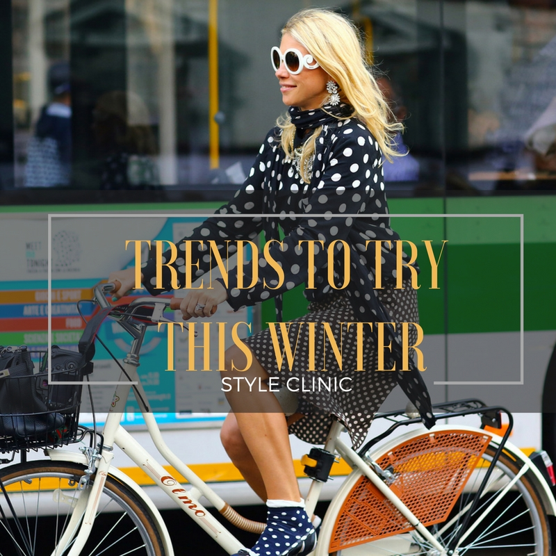Style Clinic, My Private Stylist,Trends to Try This Winter, Trends Winter 2018, Image Innovators, Image Consultant Training, Ann Reinten