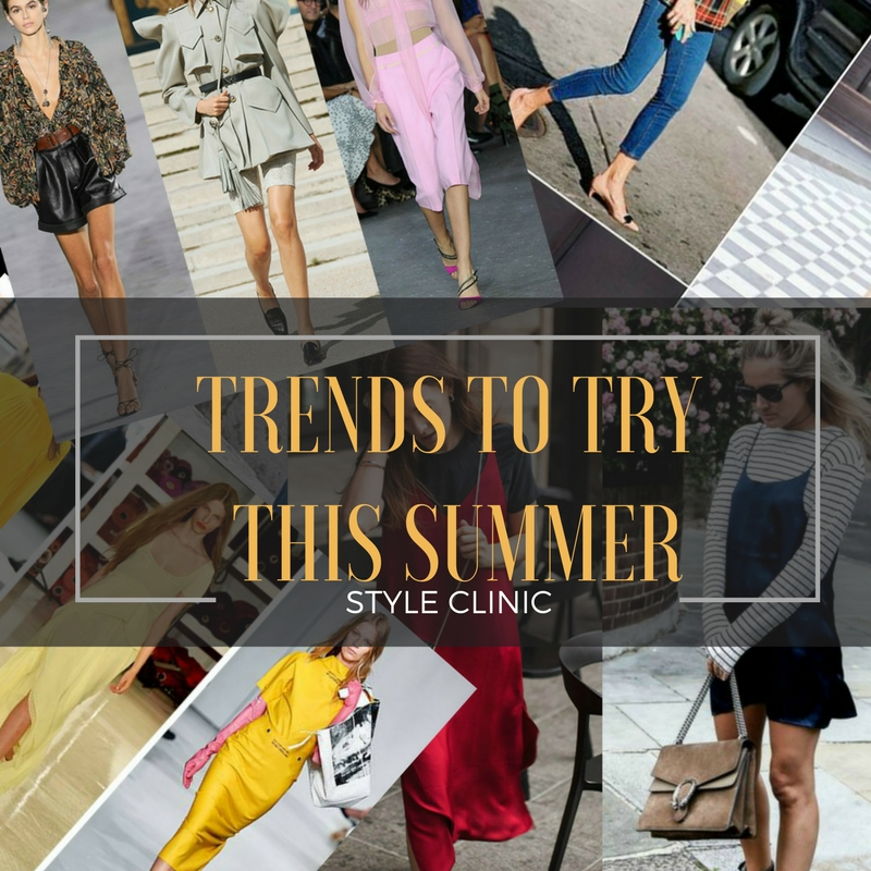 Style Clinic, My Private Stylist,Trends to Try This Summer, Trends Summer 2018, Image Innovators, Image Consultant Training, Ann Reinten