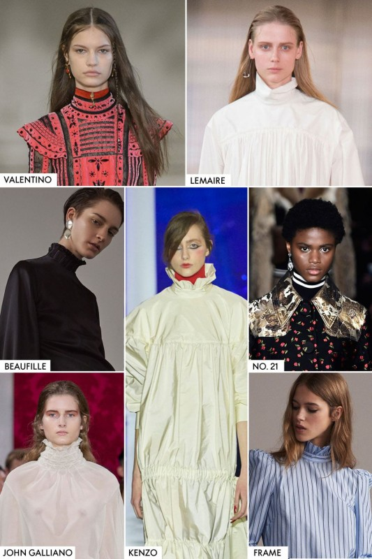 Style Clinic, My Private Stylist, High Collars, Trends Winter 2018, Image Innovators, Image Consultant Training, Ann Reinten