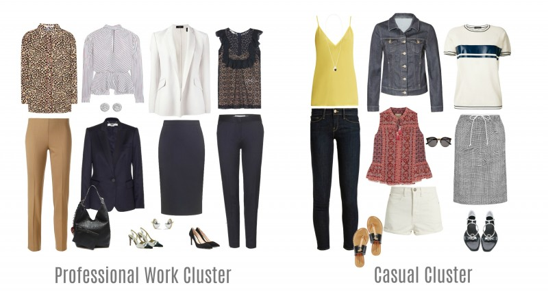Capsule wardrobe, Versatile wardrobe, Business wardrobe, Style for women, Image Innovators, Image Consultant Training Online, Ann Reinten, The Inexhaustible Wardrobe., Casual Cluster