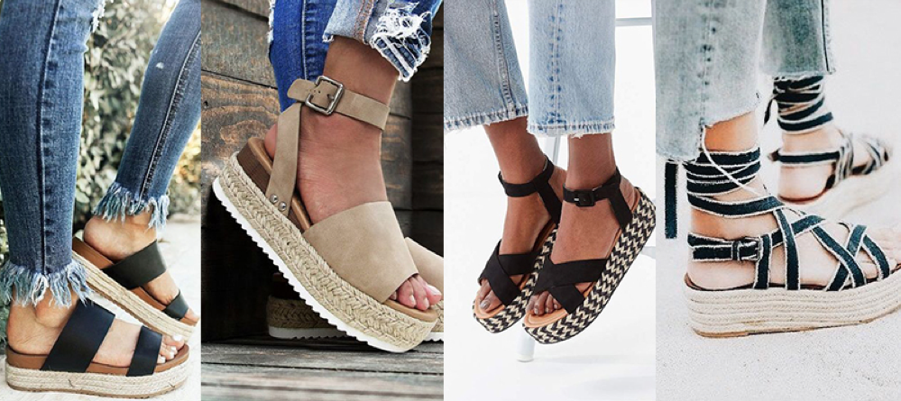 espadrilles the trend for 2018 summer style