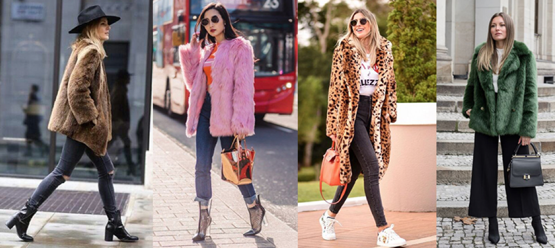 winter 2018 trend faux fur