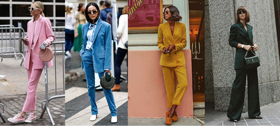 winter 2018 trends monochromatic suits