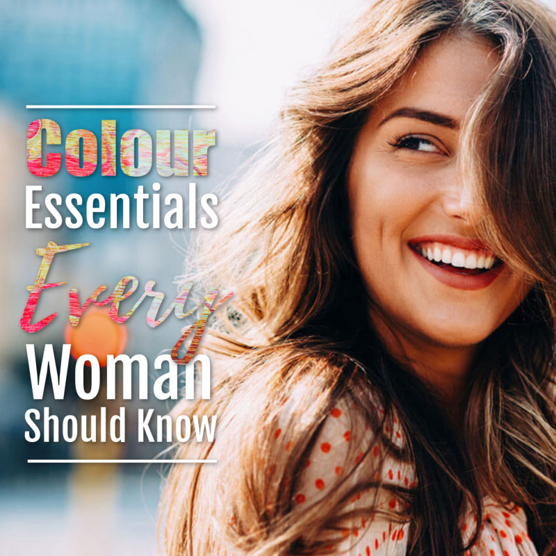 Colour Essentials Every Woman Should Know,Colour Analysis, Image Consultant Training, Image Innovators, Style Clinic, Ann Reinten