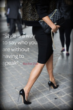 Whats Your Style Personality, Image Innovators, Ann Reinten, Style Clinic, Womens Style, Personal Style Expression, Rachel Zoe Quote