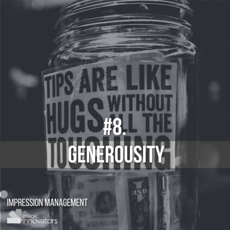 10 TRAITS THAT ATTRACT OPPORTUNITIES & PEOPLE, Generous, Style Clinic, Ann Reinten, Image Innovators, Image Consultant Training, Image Consultant tools and resources.